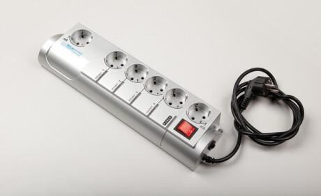 Conen LTL-USB USB-programmierbare Steckdosenleiste