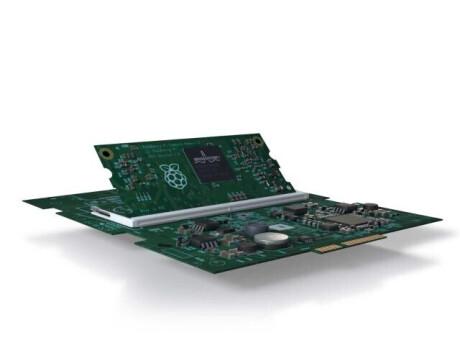 Raspberry Pi 3 Compute Module (NEC Edition) + Interface Board