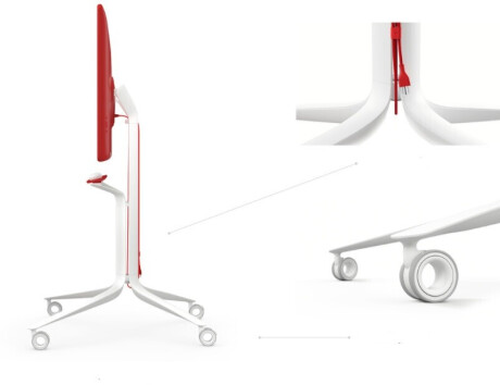 Google Jamboard Rollständer