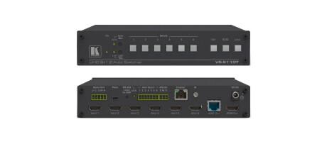 Kramer VS-611DT 6x1:2 4K 60 4:2:0 HDMI Auto-Switcher und PoE-Lieferant über HDBaseT