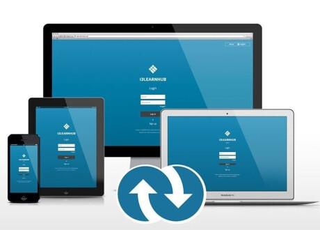 i3-Technologies 1 Jahres-Lizenz für i3LEARNHUB Site / 35 User