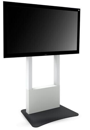 i3-Technologies Standfuß für Displays, freihstehend, mit Bodenplatte