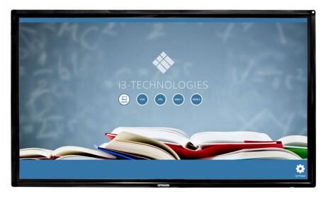 "i3-Technologies i3TOUCH V1186 interaktives Touchdisplay 86"" inkl. Wandhalterung"
