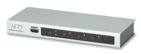 Aten VS481B HDMI Switch (4 Port, Ultra HD 4K)