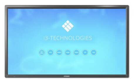 "i3-Technologies i3TOUCH E1065R Interaktives Touchdisplay 65"" Excellence-Serie 20 Touch 4K inkl. Wand"