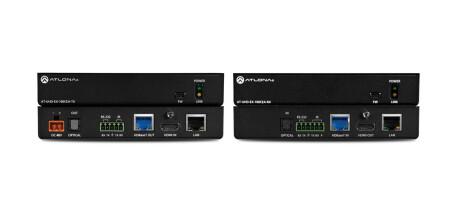 Atlona AT-UHD-EX-100CEA-KIT HDBaseT Set (Sender/Empfänger)