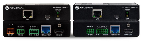 Atlona AT-UHD-EX-100CE-KIT HDBaseT Set (Sender/Empfänger)