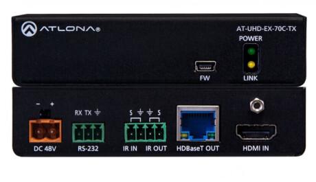 Atlona AT-UHD-EX-70C-TX HDBaseT Transmitter, Max.70m