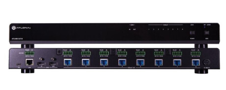 Atlona AT-UHD-CAT-8 HDMI / HDBaseT Splitter, 1 X 8