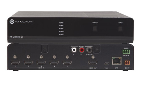 Atlona AT-UHD-SW-51 HDMI Switcher 5 X 1