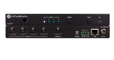 Atlona AT-JUNO-451 HDMI Switcher 4 X 1