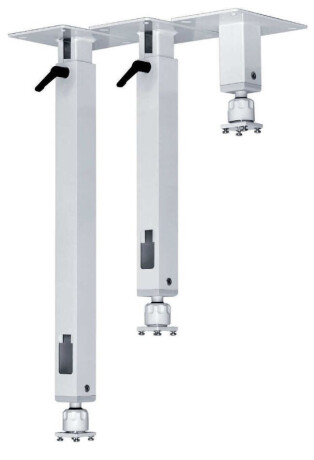 PeTa Standard Deckenhalterung mit Stahlkugel 30 – 50 cm