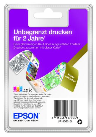 Epson EcoTank 2 Jahre Unlimited Printing