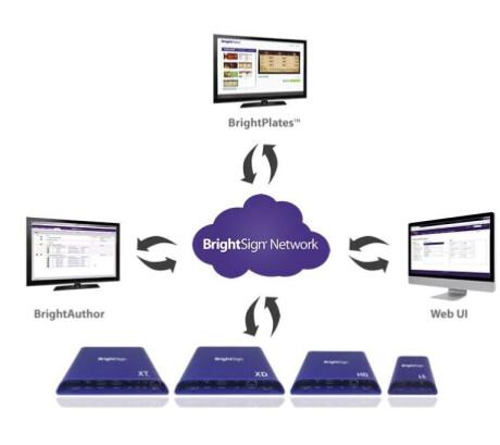 BrightSign Network Lizenz Laufzeit: 1 Monat / Player