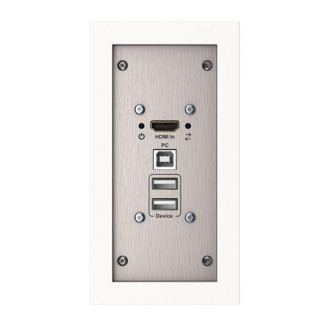 Kindermann Konnect steel HDMI/USB Transmitter