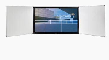 """Legamaster Seitenflügel-Set für e-Board 85"""", mit Whiteboard-Oberfläche, weiss/weiss"""