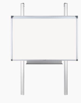 Legamaster Pylonen-System mobil, elektrisch höhenverstellbar, Mobile Gestelle für e-Board Touch 2