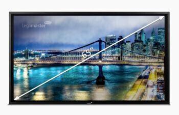 Legamaster STX6550 feste Wandmontage, e-Screen Business Paketlösung
