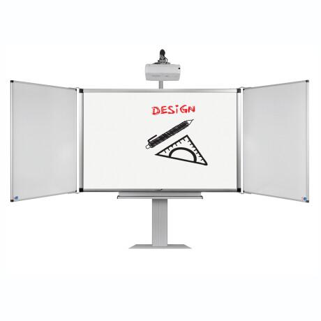 """Legamaster ECO-Paket 4F: e-Board Touch 85"""" mobile elektrische Höhenverstellung + Flügel"""