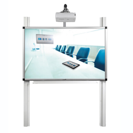 "Legamaster PRO-Paket 3: e-Board Touch 85"" Pylonensystem mit Gegengewicht (260cm)"