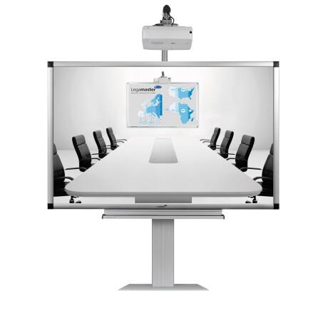 """Legamaster PRO-Paket 4: e-Board Touch 85"""" mobile elektrische Höhenverstellung"""