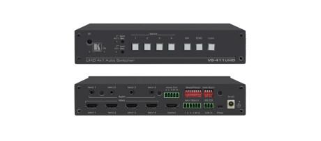 Kramer VS-411UHD 4x1 4K 60 4:2:0 HDMI Auto–Switcher mit Audio
