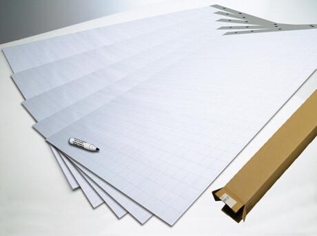 SMIT Flipchartpapier 70 gr/m2, 100 Blatt