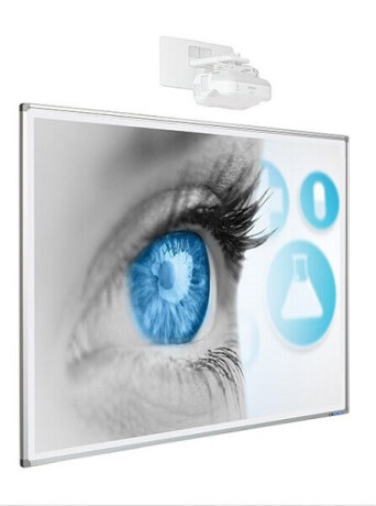 SMIT Weißwand-/Projektionstafel 120/192 cm
