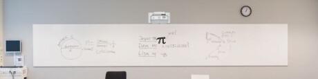 SMIT Chameleon modulare Edu-Weißwandtafeln Ganze Tafel 118/189 cm