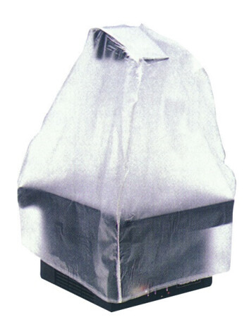 MEDIUM OHP-Staubschutzhaube für alle OHPs transparente PE-Folie