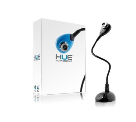 HUE HD Kamera, USB Dokumentenkamera und Webcam, schwarz - Demoware