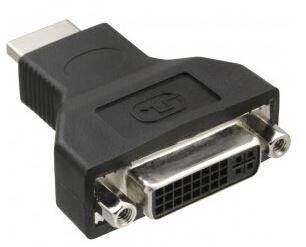InLine HDMI-DVI Adapter, HDMI Stecker auf DVI Buchse