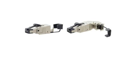Kramer CON-FIELD Feld–montierbare, geschirmte RJ–45 Steckverbinder für CAT–Kabel