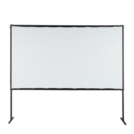 "celexon basic line mobile Rahmenleinwand 221 x 124 cm, 100"", Leinwand Format 16:9, Heimkino Leinwand"