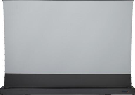 """celexon CLR HomeCinema UST elektrische Boden-Hochkontrastleinwand 100"""", 221 x 124cm - schwarz"""