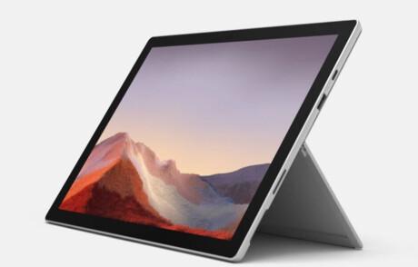 Microsoft Surface Pro 7 12,3'' Intel i7 / 16 GB RAM / 256 GB, Platinum