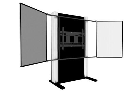celexon Expert manuelles 2-Säulen-Pylonensystem Adjust-6586P mit Flügeln
