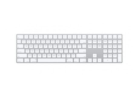 Apple Magic Keyboard mit Nummernblock - Silber