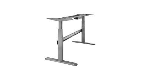 celexon elektrisch höhenverstellbarer Schreibtisch Professional eAdjust-65120G - grau