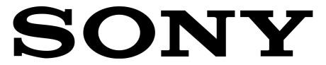Sony PCSA-RXC1 Software upgrade für PCS-XC1