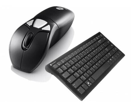InFocus Air Mouse und Wireless Keyboard