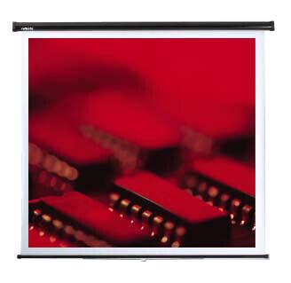 Reflecta Federroller Leinwand 125 x 125 cm