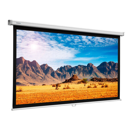 Projecta Rollo Leinwand SlimScreen, 125 x 125 cm, 1:1, mattweiss