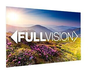 Projecta Rahmenleinwand FullVision, 280 x 175 cm, 16:10, mattweiss