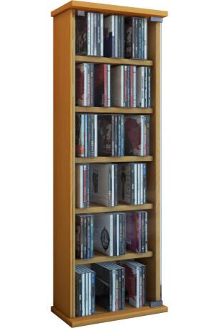 VCM CD / DVD Möbel Vetro - Schrank / Regal in 7 Farben: buche