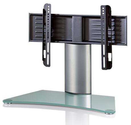 "VCM TV Tisch - Standfuß ""Windoxa Mini"" Mattglas"
