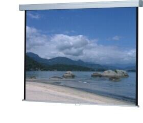 WS-P-ProScreen-Rollo 1:1 240 x 240 cm mattweiß 1,0 Gain