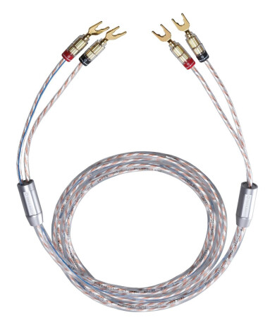 Oehlbach Twin Mix One mit Kabelschuh - 2 x 4,0 m