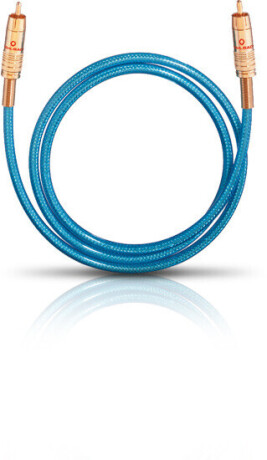 Oehlbach NF 113 Digital 0,5 m blau