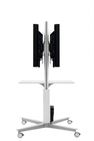 SMS Flatscreenwagen X FH MD1455 Double weiß